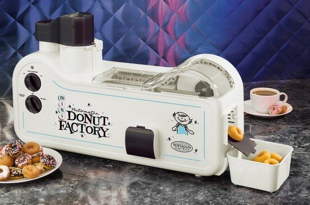 Automatic Mini Donut Factory, $149.99. | 37 Ridiculous Kitchen Gadgets You Definitely Need In Your Life