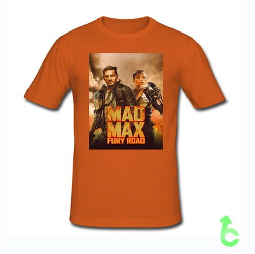 Mad Max Fury Road Tom Hardy And Charlize Theron T-Shirt