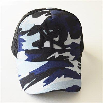 Erkek NY kamuflaj fileli mavi kep şapka modellerini en ucuz fiyatlarıyla kapıda ödeme ve taksit ile hemen satın al.