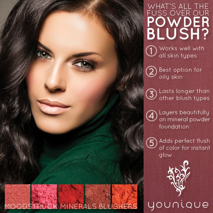 What's all the fuss over Younique Powder Blusher? #youniqueproducts #beauty #mineralmakeup