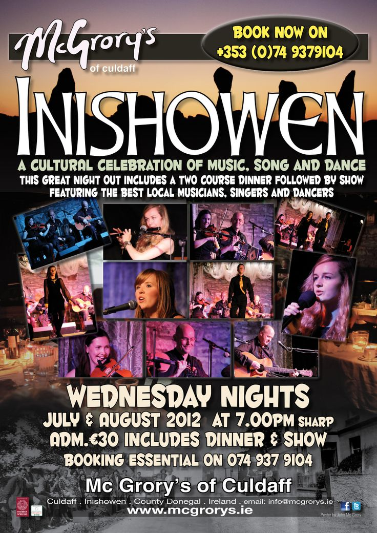 Inishowen show poster