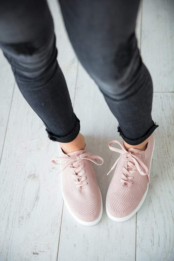 Mauve Tess sneakers #shoes #ad #style