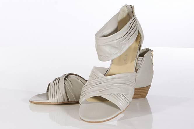 Sandaletten Grau Perla