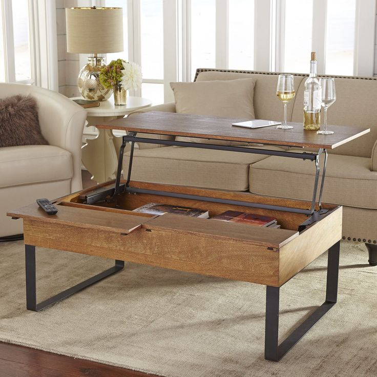25+ Best Ideas About Coffee Table Storage On Pinterest
