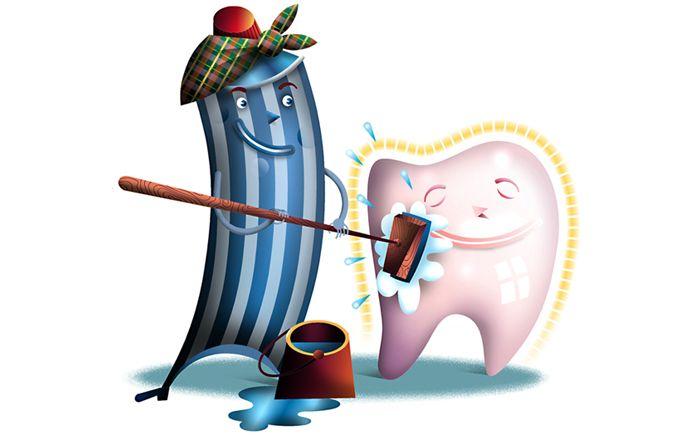 použití zubní pasty na jiné čištění