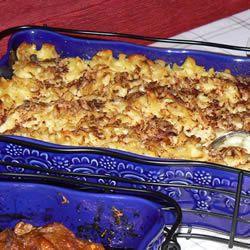 tastycookery | Applesauce Noodle Kugel