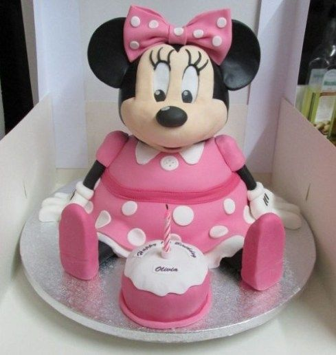Cake Designs Minnie Mouse : 25+ best ideas about Minnie Mouse Cake Decorations on ...
