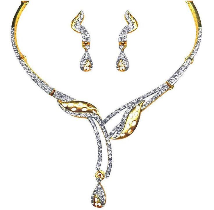 Diamond Wedding Necklace Design