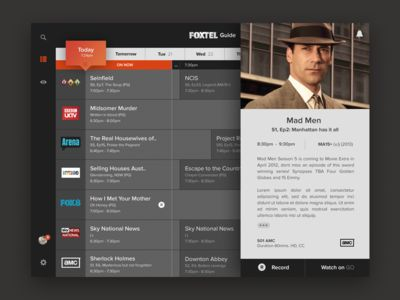 Foxtel TV Guide - iPad Synopsis