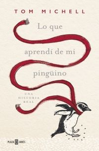 """""""Lo que aprendí de mi pingüino"""" de Tom Michell. Inglaterra, años 70. A sus 23 años, Tom Michell está soltero y con ganas de ampliar horizontes. Cuando le ofrecen un puesto de profesor en un internado inglés de Argentina, acepta encantado pese a la fragilidad política y económica que vive el país.  Durante unas vacaciones en Uruguay, Tom rescata a un pingüino atrapado en un vertido de petróleo. A partir de entonces, se establece entre ambos una relación muy especial. Signatura: N MIC loq"""