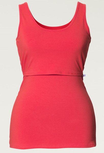 Boob Design Maternity singlet / nursing singlet - aqua, lemon, steel bue or red option - M