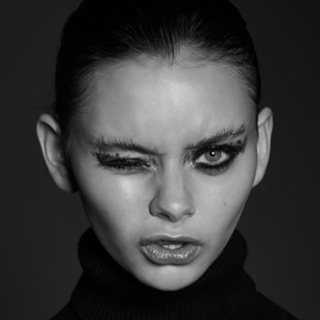 New shots featured in @lucysmagazine 💕 Photographer: @nathaliebardin  Hair & makeup: @yukishoji_makeup