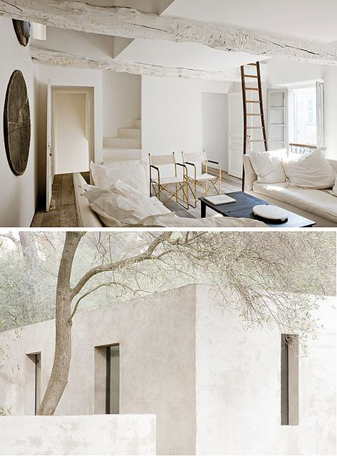 white interiors by the style files: White Houses, Living Rooms, Bedrooms Design, Architecture Interiors, White Rooms, White Interiors, Bedrooms Decor, Style File, Interiors Ideas