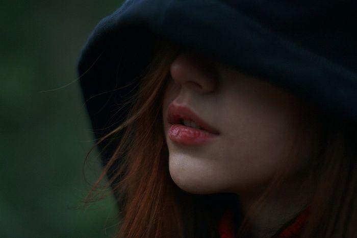 Redhead Hood Face Hoods Women Wallpaper Girl Hiding Face Face Photography Face Photo