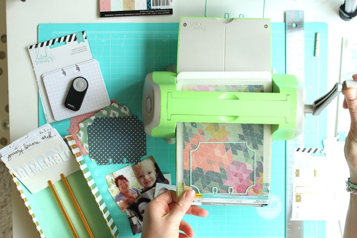 Memorydex Birthday Box | Meghann Andrew  for Jot Magazine in collaboration with Heidi Swapp. Step by step tutorial + video walk through.