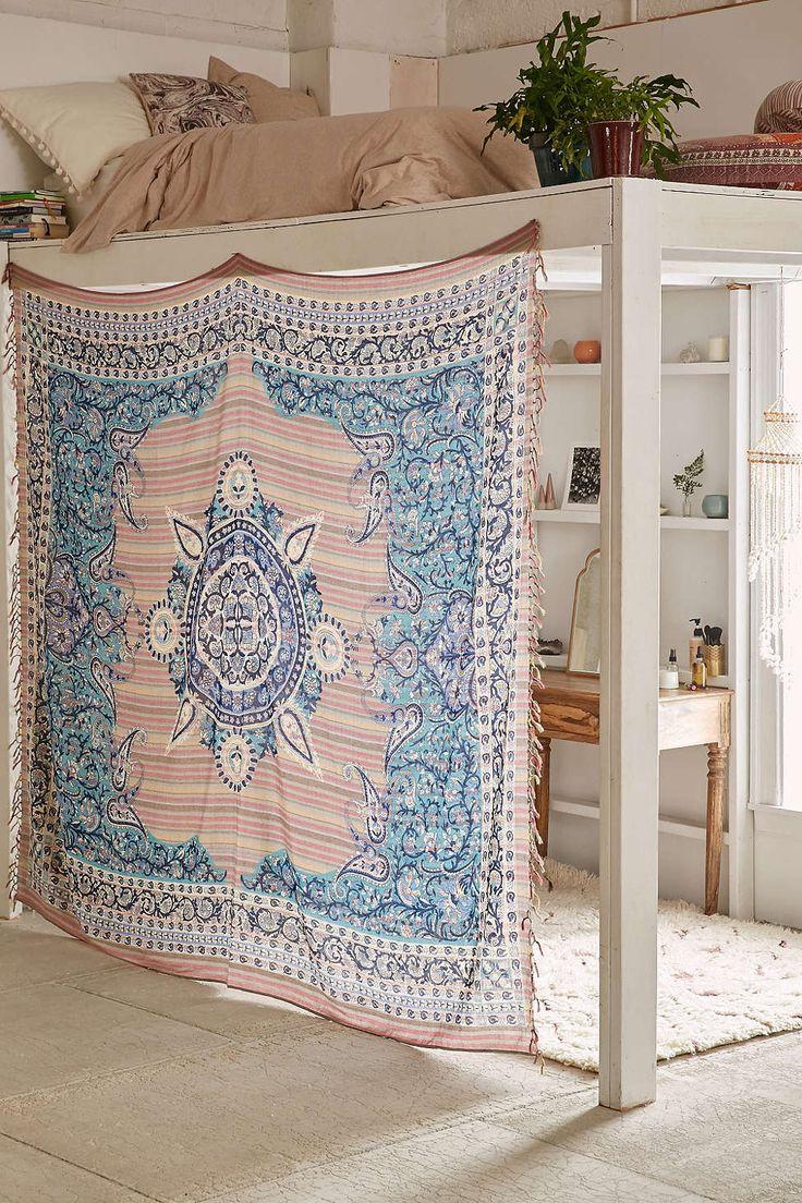 Loft bed privacy ideas   best Dorm Room Decorating images on Pinterest  Bedrooms College