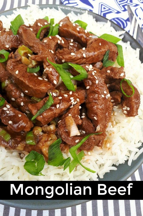 Mongolian Beef Only Takes 15 Minutes And Is A Delicious Dinner