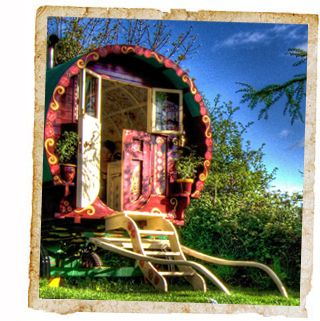 Modern Gypsy Caravans | Enjoy a night under the stars in our Romany Caravan overlooking the ...