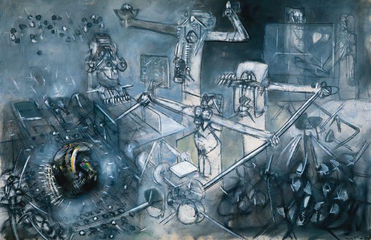 roberto matta - a great chilean painter.