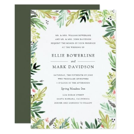 Meadow Wedding Invitation - click to get yours right now!
