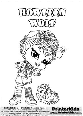 Best Monster High Coloring Pages Pdf 35 monster high coloring pages
