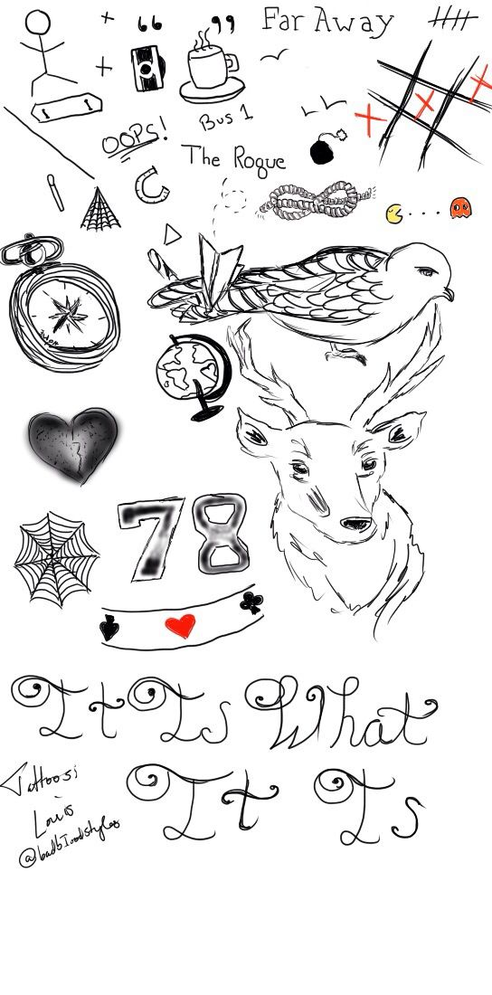 Louis' tattoos | Drawings en 2019 | Pinterest | Louis ...