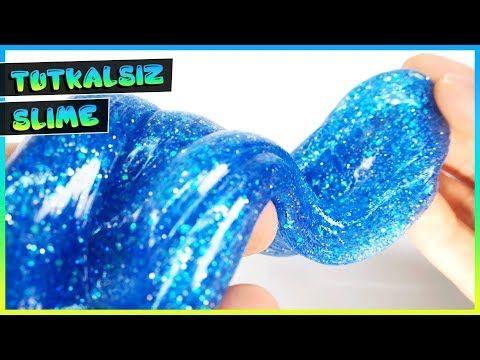 Tutkalsiz Slime Test Fake Slime Tarifleri 3 Tuz Ile Slime