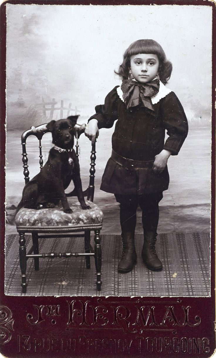 A little dandy and his dog.From the e-book, Dressing up with Dogs.