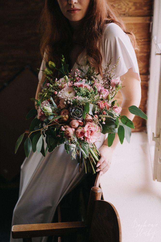 INNA Studio_wedding / bridal bouquet / wedding flowers / fot. Bajkowe Śluby