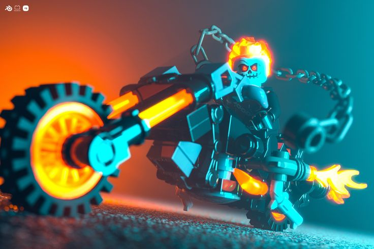 https://flic.kr/p/L6BUUB | Ghost Rider | Model (by Stas) here. …
