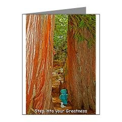 Step into Your Greatness Note Cards (Pk of 10) > Step into Your Greatness > Blue Bear Loves You
