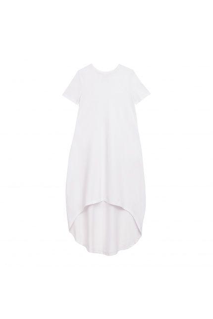 Przewiewna, dzianinowa #sukienka SaYuri marki LOUS. Wygodna, a jednocześnie podkreślająca kobiece kształty. Sprawdźcie inne propozycje #LOUS na #BoutiqueLaMode.com.