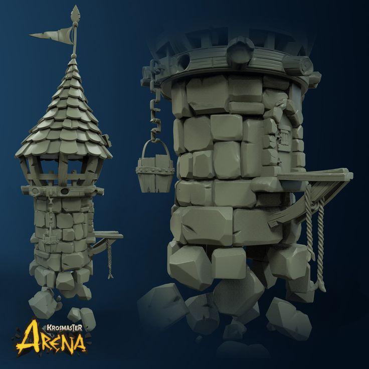 Ankama Krosmaster Arena , Alexis Gros-Louis Houle on ArtStation at https://www.artstation.com/artwork/Kz6x9