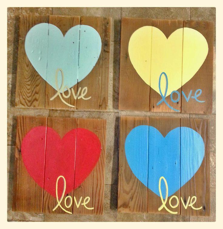 Toll Custom Painted Barn Wood Sign. Valentine ...