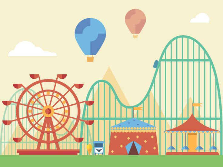 Amusement park by FireArt Studio