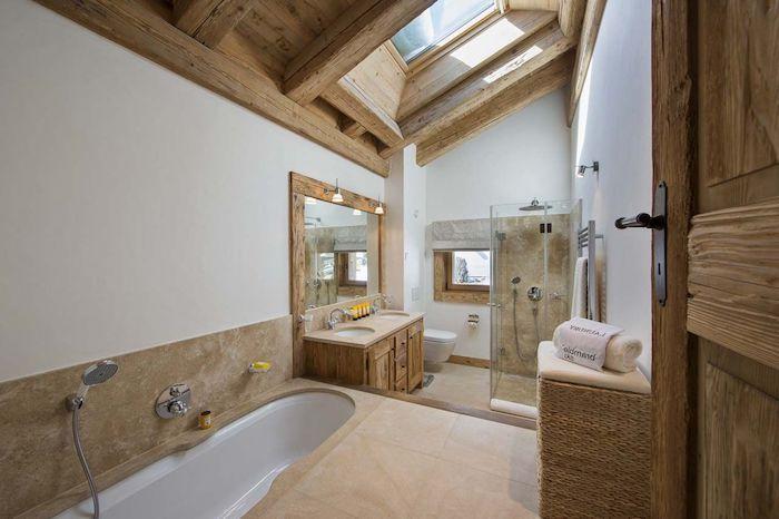 Miroir Salle De Bain Cadre En Bois : Best images about salle de bain on pinterest coins