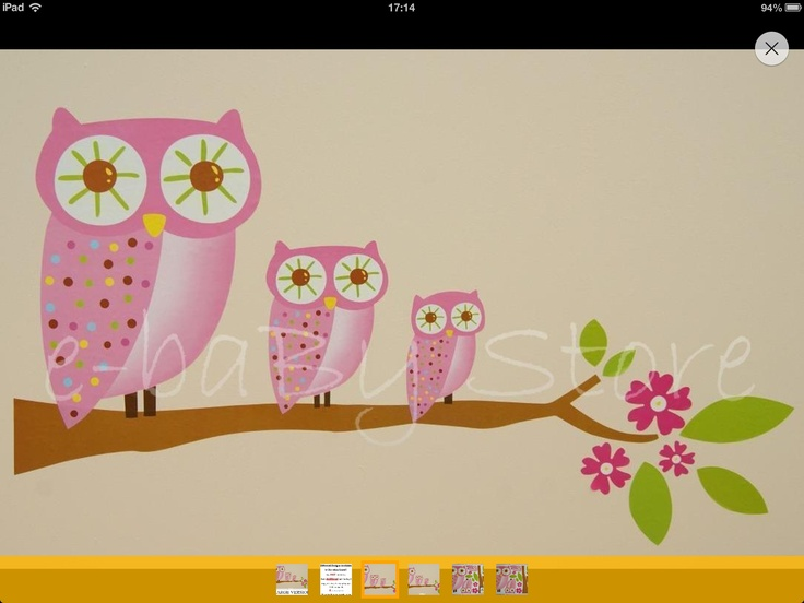 My three little owls