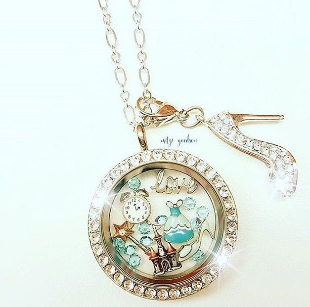 Princess Origami Owl Locket https://www.facebook.com/groups/thegiftofcharms/