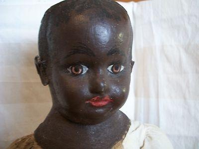 Black Alabama Baby by Ella Smith Doll Co Made in 1905 in Alabama Very RARE | eBay