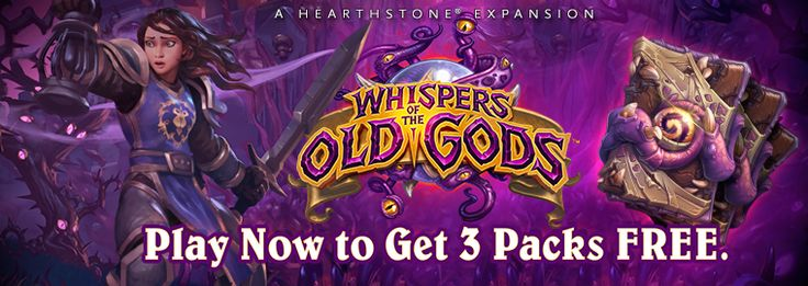 Hearthstone: Whispers of the Old Gods Now Live!