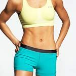 Core Knowledge: How to Get Flat Abs.  Click on pic for article that explains science of abs and offers 9 tummy-toning exercises. :-)