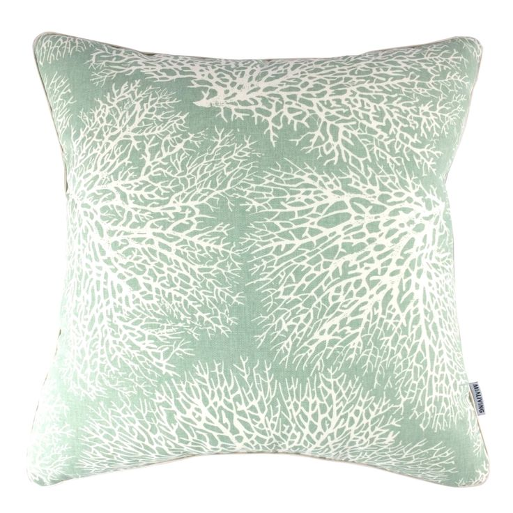 Mint Coral #mialiving #pillows #cushions