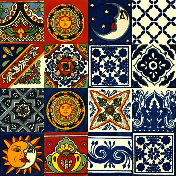 Hand Painted Spanish Ceramic Tiles