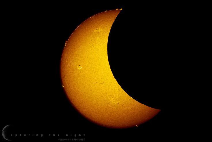 Prophotos.ru. Профессионально о фотографии - Солнечное затмение на фотографиях