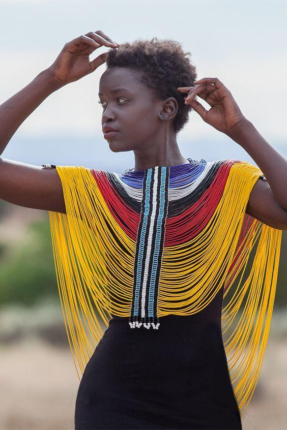 Колье в африканском стиле (подборка) / Украшения и бижутерия / ВТОРАЯ УЛИЦА | африканки | Pinterest | African wear, Africans and African fashion