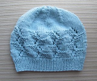 Hat in Lacy Branches Stitch for a Lady by Elena Chen - free