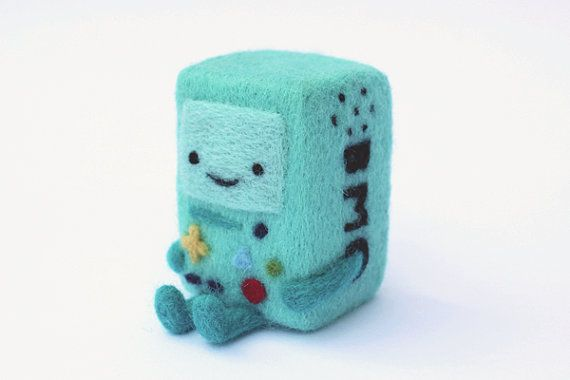 Hey, I found this really awesome Etsy listing at https://www.etsy.com/listing/196026391/needle-felted-bmo