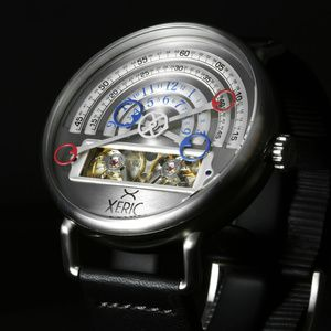 Watchismo's Unusual Mechanical Watch: The Halograph