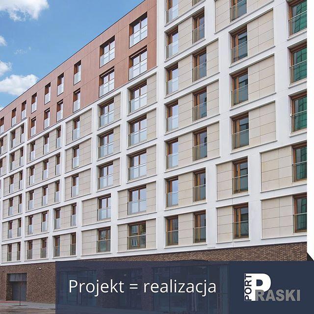 Projekt = realizacja. Port – zdjęcie Marc-Olivier Giguere.  #portpraski #apartamenty #mieszkania #port #centrum #warszawa #apartments #flats #warsaw