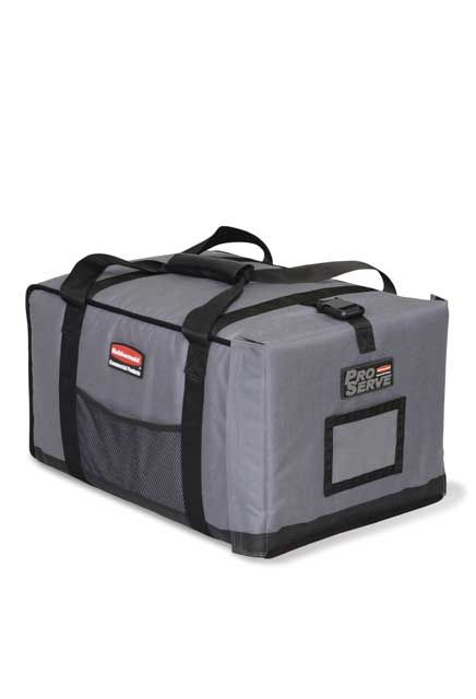 Insulated container for transporting food: Carrying bags, insulated for hot and cold foods.